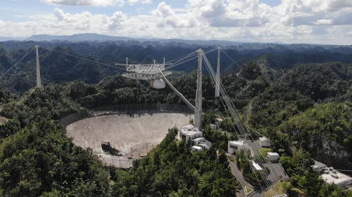 Renowned Arecibo radio telescope collapses