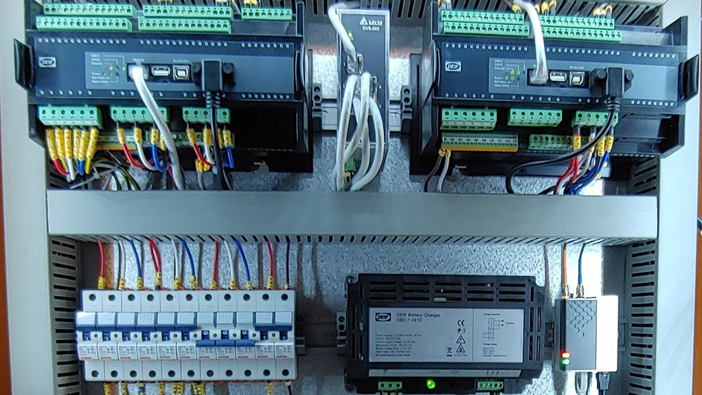 FULL CONTROL The installation, with remote monitoring and remote access, ensures that the client has full control over the system remotely
