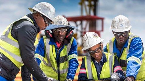 Miners in Mpumalanga enterprise development centre partnership