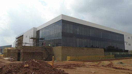 Construction of jewellery manufacturing hub nears completion