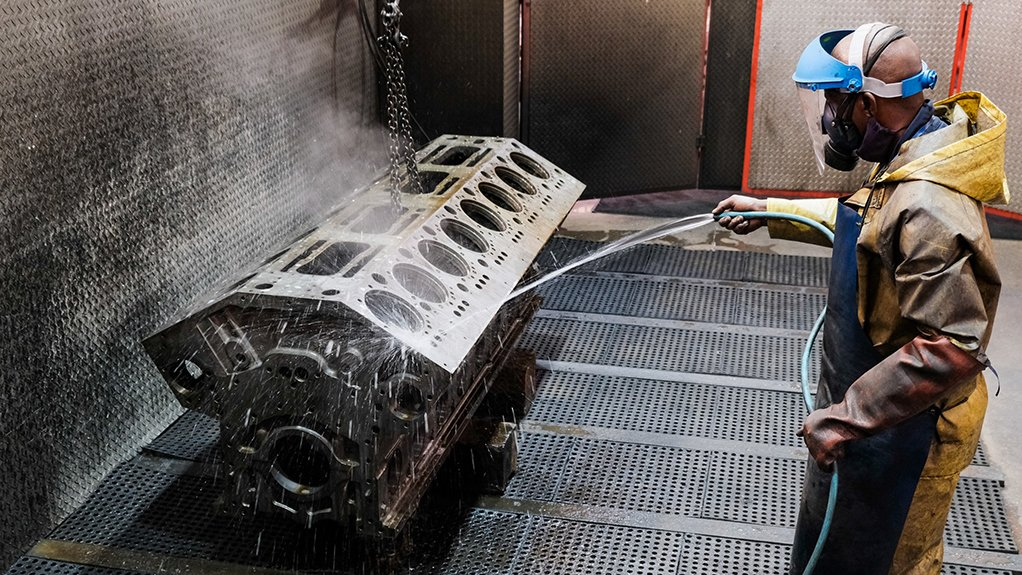 The cleanliness of diesel engine components cannot be underestimated prior to assessing components.