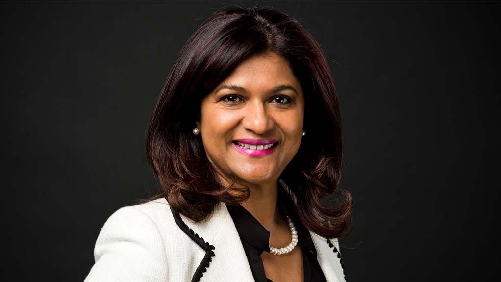 AngloGold Ashanti interim CEO Christine Ramon