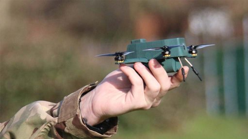 Bad weather nano-UAV successfully developed in UK for army use