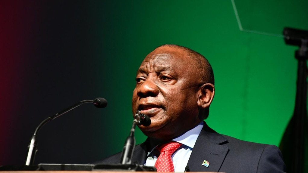 CYRIL RAMAPHOSA The South African President will one of the keynote speakers at the virtual event
