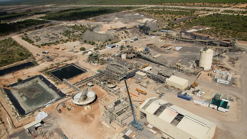 UNDERWAY Volumetric and metallurgical upgrade and refurbishment at the Boseto plant will be completed in the second quarter of this year.