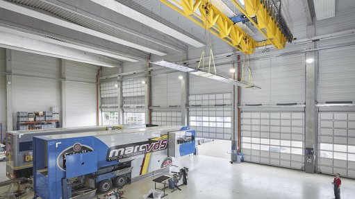 Demag supplies rope hoists and v-type girders to motorsports giant in Germany
