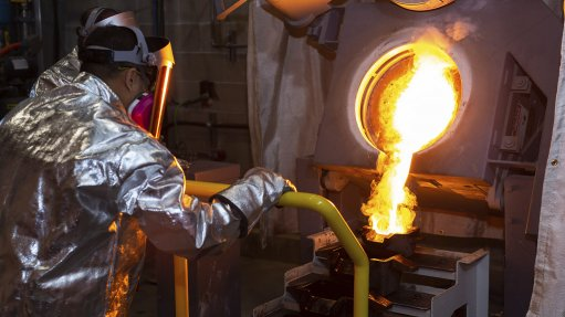 First gold pour positions Pure Gold for future success