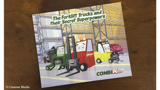 Forklift-centric children's book launched to spark imagination, acceptance of others
