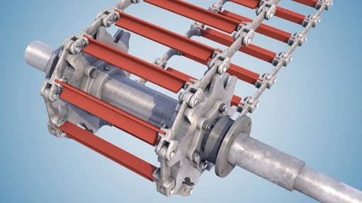 EXTRA STRONG Conveying dry or wet ash is one of the most challenging applications a chain can be subjected to