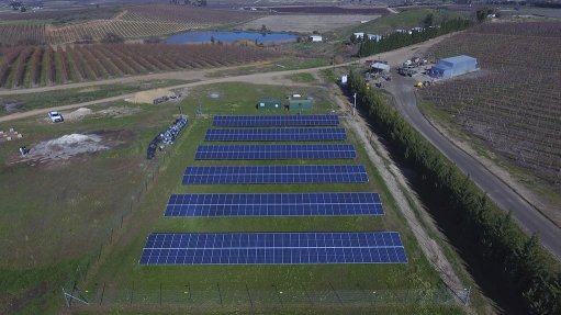 Ceres farmer commissions solar plant that benefits community