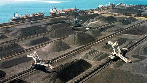Richards Bay Coal Terminal, South Africa's world-class coal export port.