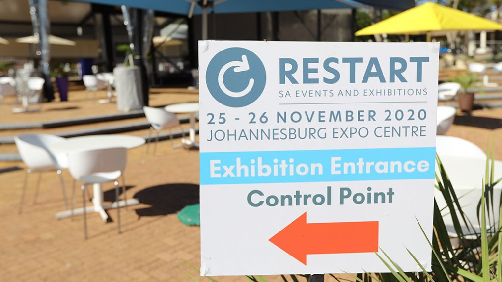 RECOGNISING A REGULATED INDUSTRY The Restart Expo demonstrated that business exhibitions and conferences can take place, with required Covid-19 protocols in place