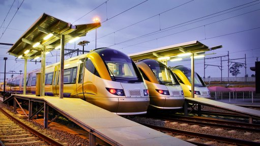 Gautrain rolling stock fleet completes 40-million kilometres in service