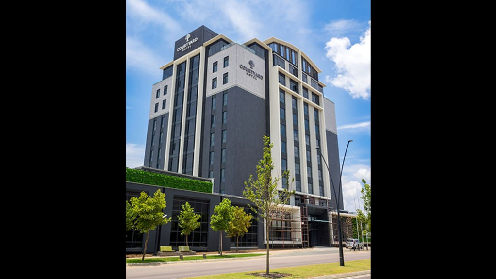 Courtyard Hotel Waterfall City set to welcome new guests