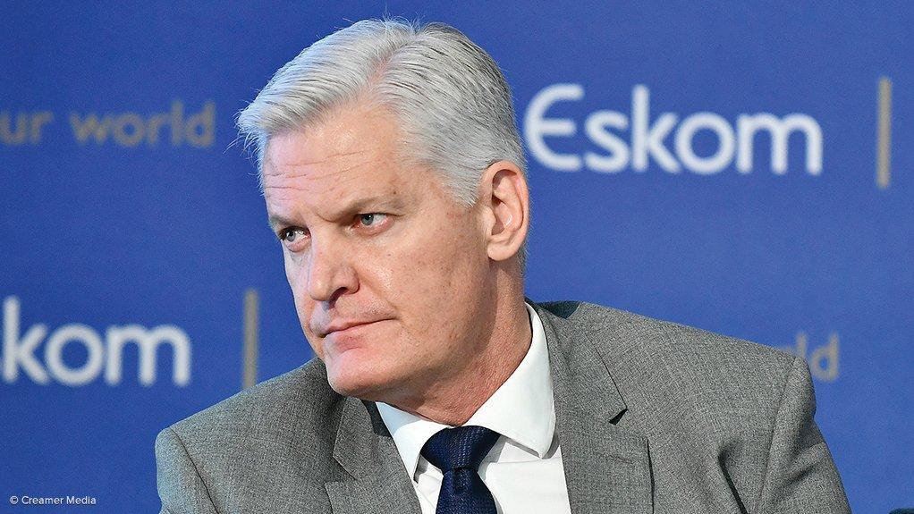 Eskom CEO André de Ruyter