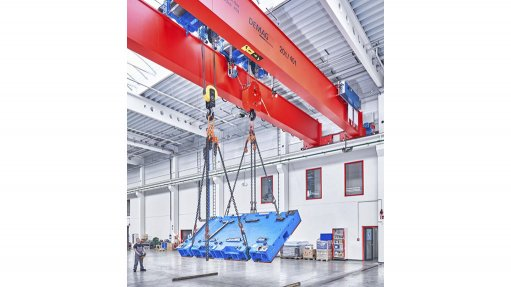 New load-turning function for cranes