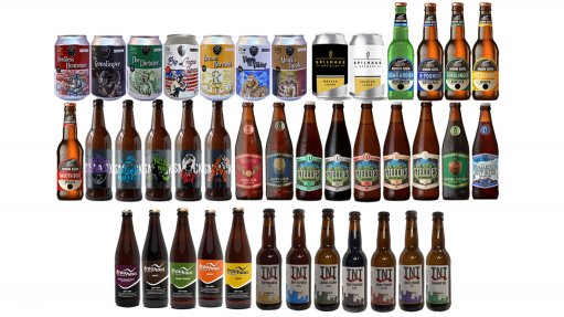 A selection of craft beers typically found on the Craft Craze app