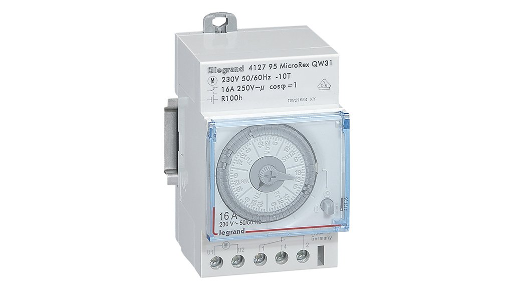 EASY TECH Legrands new series of time switches have been designed for easy programming