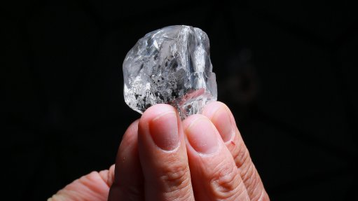 Lucara recovers 378 ct diamond from Karowe