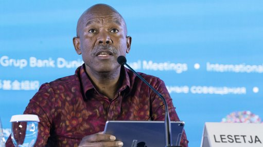 Kganyago sees room to react to third virus wave