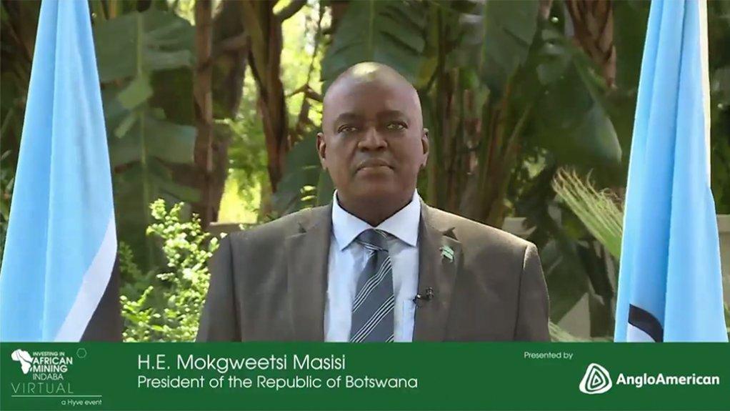 Botswana president Mokgweetsi Masisi