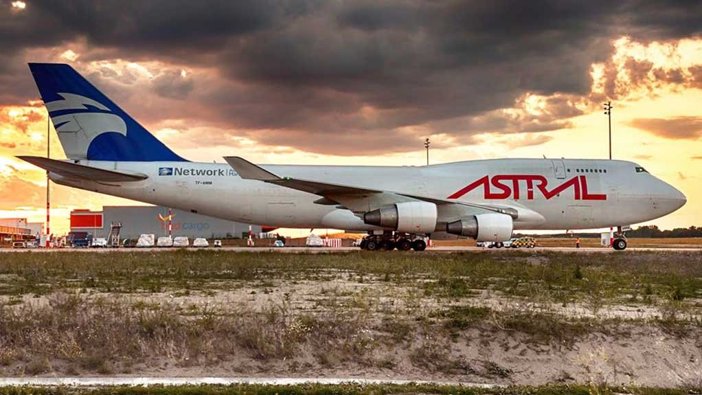Astral Aviation's Boeing 747-400F