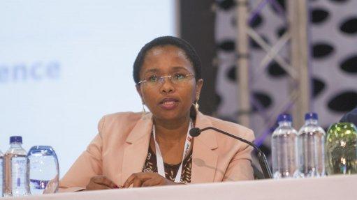 Minerals Council health head Dr Thuthula Balfour