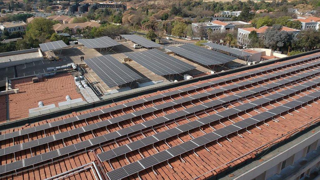 Hyde Park Corner solar panel project