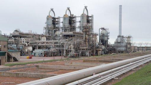 PetroSA refinery in Mossel Bay
