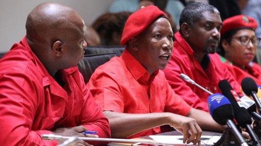 Nothing to celebrate under Ramaphosa's leadership – Malema