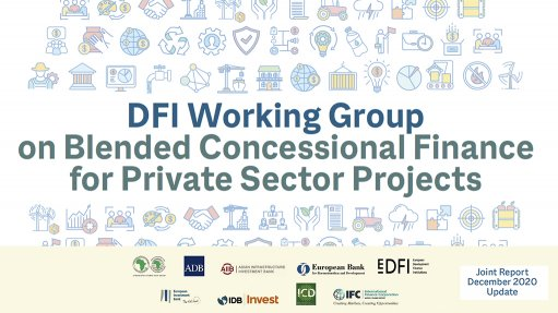 DFI Working Group on Blended Concessional Finance for Private Sector Projects - Joint Report December 2020 Update