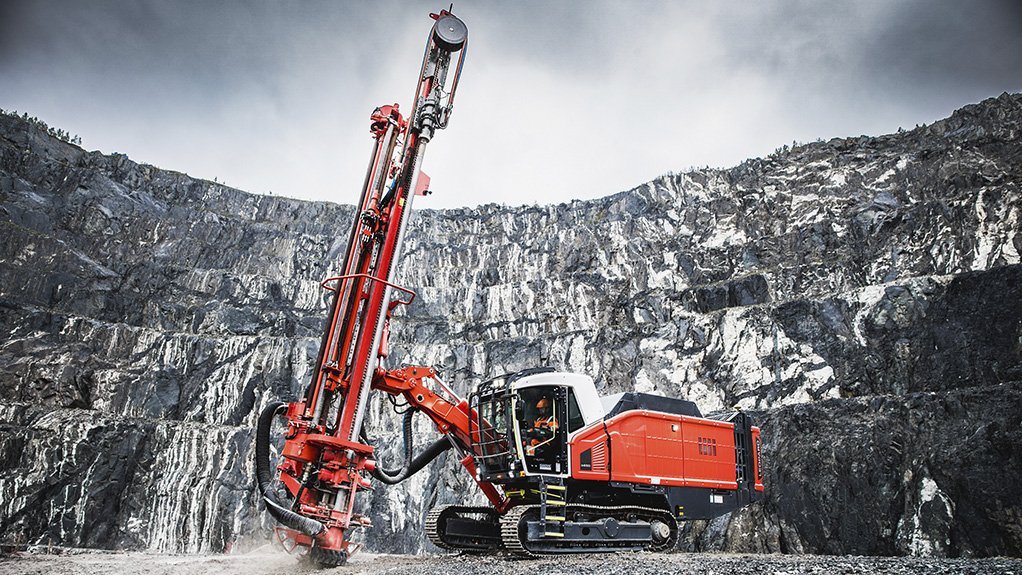 The Sandvik Leopard DI650i is designed for high-capacity production drilling applications in surface mining and for large-scale quarry applications