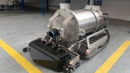 Robot designed for safe inspection of petrochemical storage tank