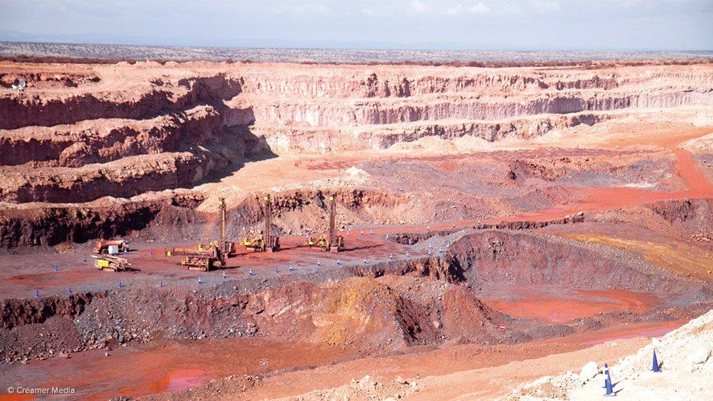 Kumba's Kolomela mine, in the Northern Cape