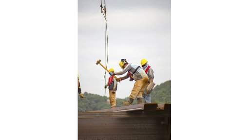 TEAMWORK  A mine's supply chain can be a powerful aspect of achieving shared value and community resilience through local procurement, supplier development and enterprise support