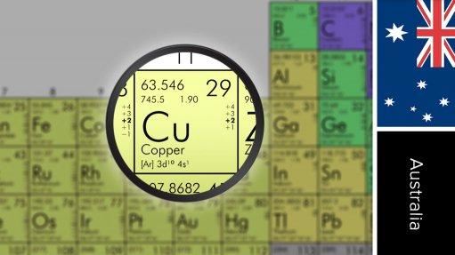 Caravel copper project, Australia