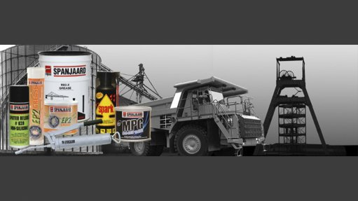Locally manufactured range of lubricants and chemical products