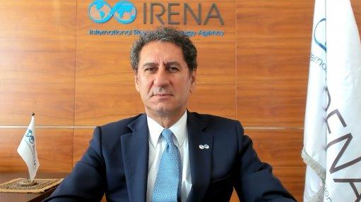 Irena director-general Francesco La Camera