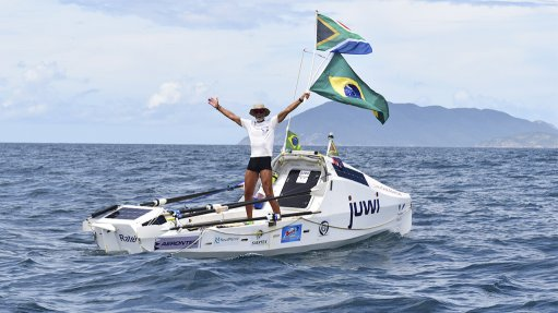 Zirk Botha completes transatlantic row in record 71 days