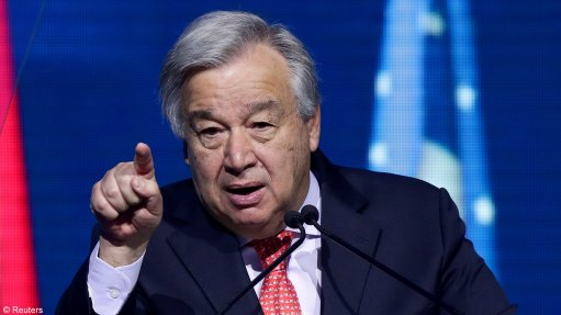 UN chief urges wealthy nations to phase out coal use by 2030