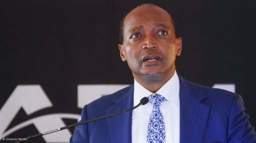 African Rainbow Minerals executive chairperson Dr Patrice Motsepe