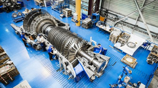 TURNING GAS TO POWER The HA turbine supplied by GE has made significant inroads into the energy sector since its introduction