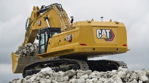Caterpillar introduces the new 374 and 395 hydraulic excavators to SA mines