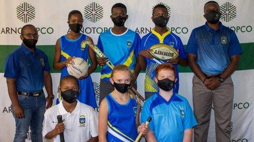 Arnot OpCo donates sports equipment to primary school