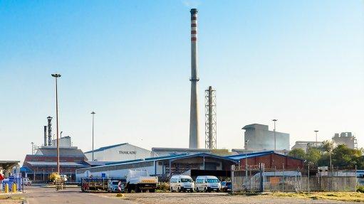 Thakadu's nickel sulphate refinery