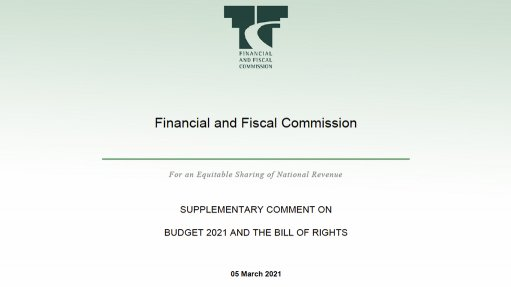 Supplementary Comment On Budget 2021 And The Bill Of Rights