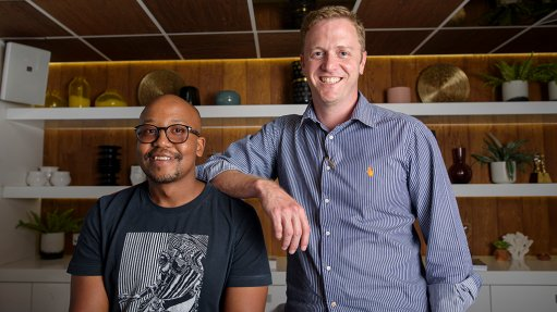 Thabang Butelezi and Duncan Barker