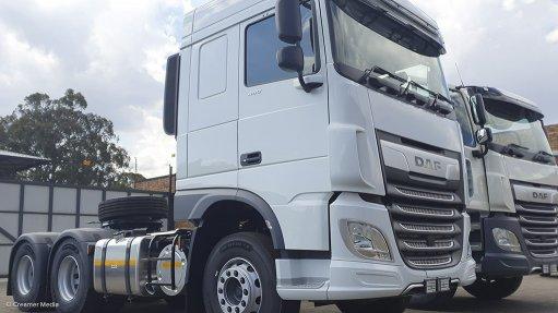 Babcock International's latest DAF truck models on offer