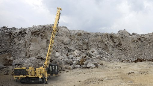 Barloworld Equipment Mining launches the Cat MD6200 rotary drill