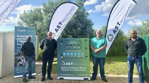 E-waste recycling bin at Roodepoort golf estate to curb growing waste stream